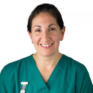 Collete Fenton, Head Nurse and Clinical Coach at Regan Veterinary Group