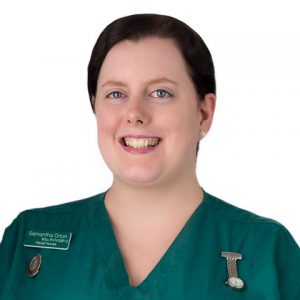 Samantha Orton, Regan Veterinary Group